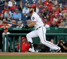 Nats beat Brewers with long-ball barrage