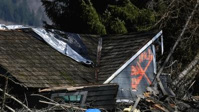 Fire Chief: Washington Landslide Toll Rises to 4