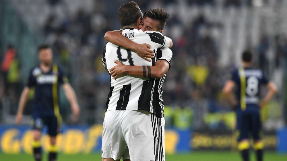 Juventus-Chievo 2-0: La doppietta di Higuain stende i clivensi