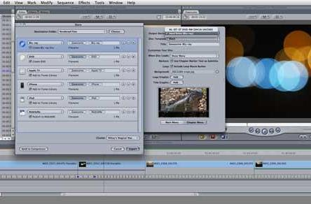 For the first time, burn a Blu-ray directly within Final Cut Pro 7