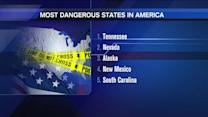 USA Today reveals the most dangerous states in America