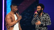 Jamie Foxx Brings Donald Glover On BET Awards Stage For Impromptu 'This Is America' Performance