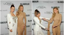 Duelo de hermanas en los Glamour Women of the Year Awards