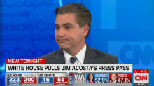 CNN reporter Jim Acosta responds to being banned from the White House