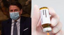 """Il premier Conte: """"Prime dosi di vaccino già a inizio dicembre"""""""