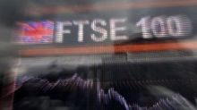 FTSE 100 falls after record 2017 as pound rises
