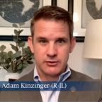 Kinzinger says Cheney's House leadership position is threatened because she's making it 'uncomfortable' for other Republicans over election lie