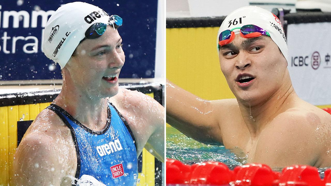 Swimming star Cate Campbell bites tongue over Chinese doping case