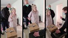 Covid: Australian anti-lockdown suspect's arrest draws controversy