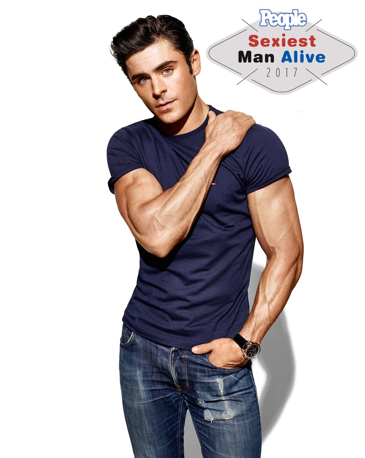The Countdown To 2017 S Sexiest Man Alive Reveal Is On Today S Hot Guy Zac Efron