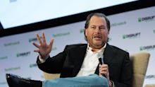 Salesforce stock is taking a hit today after lighter guidance in yesterday's earning's report