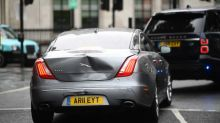 Prime Minister's car involved in shunt after protester ran into road