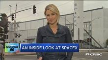 Take a look inside SpaceX's rocket factory