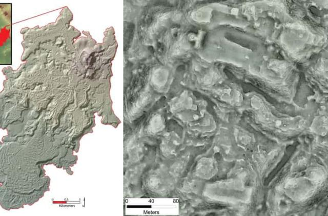Ancient city's LiDAR scans reveal as many buildings as Manhattan