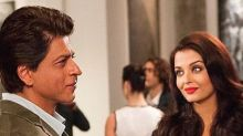 Aishwarya responds to rumours of reuniting with SRK on the silver screen!