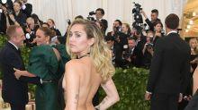Miley Cyrus's Met Gala Dress Dips Dangerously Low