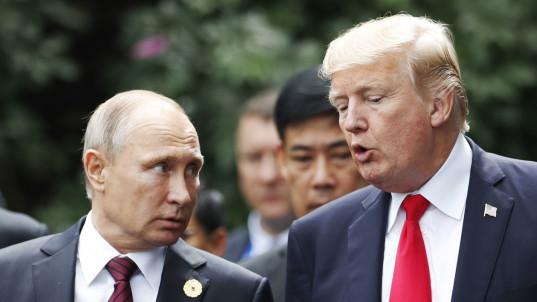 Putin thanks Trump for CIA tip on bombings