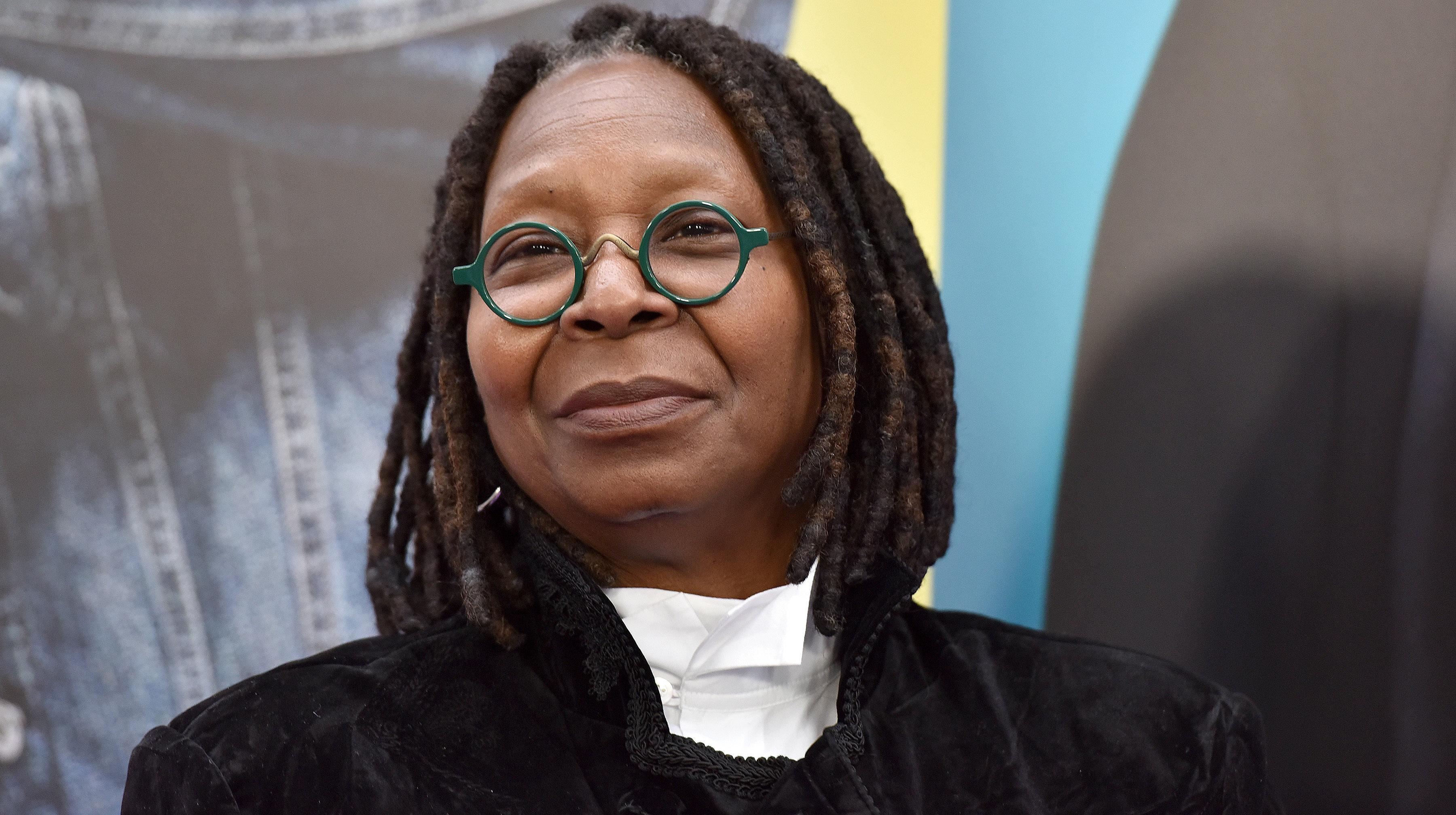 Whoopi Goldberg Defends Joe Biden, Doesn't Want Him To Change His Ways