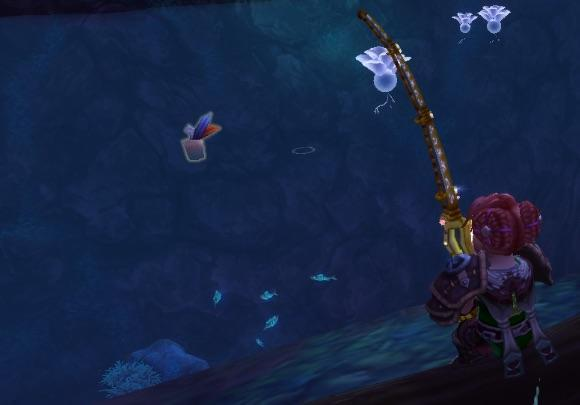 Get started with fishing in Warlords of Draenor