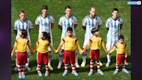 Argentina Fields Demichelis; Origi For Belgium