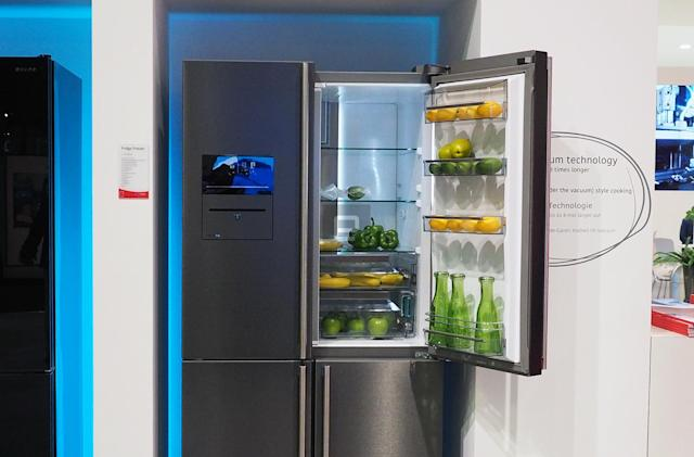 Get a fridge that helps you sous vide