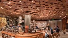 星巴克全球最大門店落地上海,今天開張!