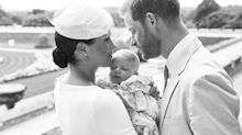 Meghan and Harry release baby Archie's christening photos - and include subtle tribute to Diana