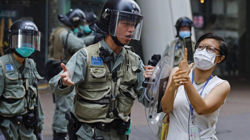 National Security Law Expands Online Reach of Hong Kong Police