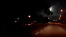 Motorist captures incredible moment as meteor lights up sky before exploding over Malaysia