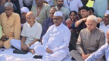 7 Yrs On, Anna Hazare Back at Ramlila Maidan; Anger Directed at BJP Govt This Time