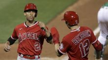Andrelton Simmons remains quiet on whether he wants to return to the Angels