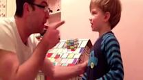Dad Pretends to Punch Acting Toddler