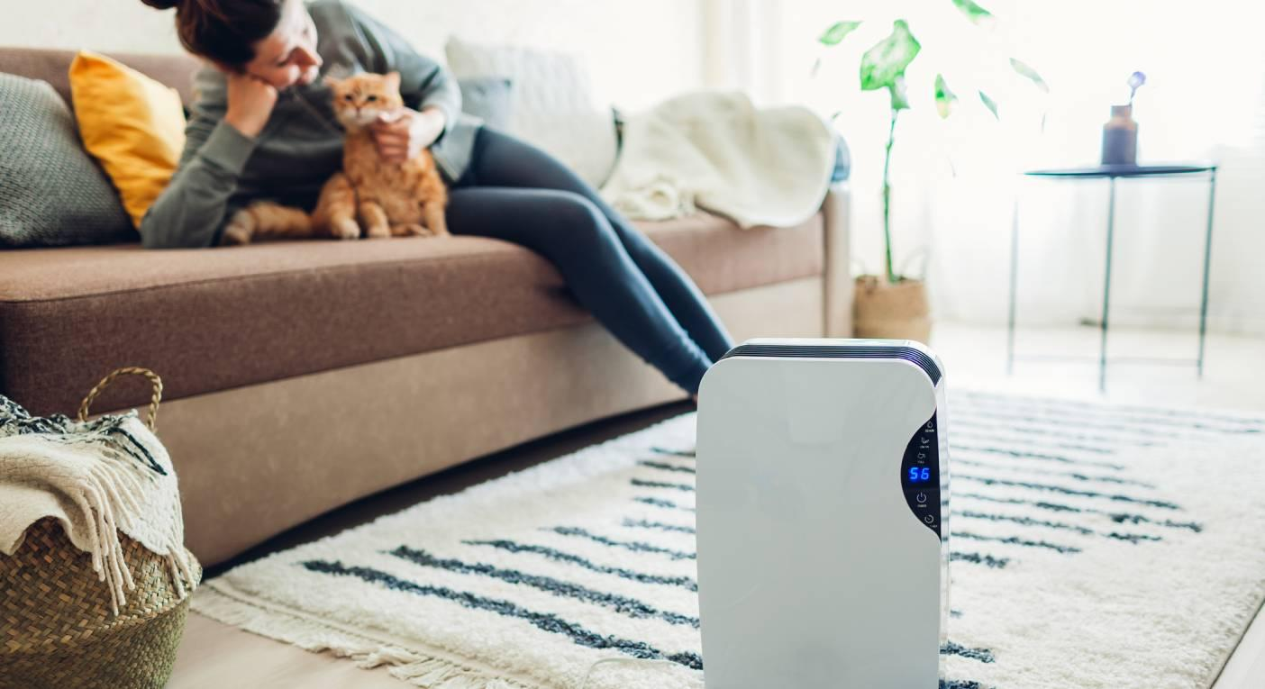 Breathe easy with this air purifier that helps get rid of allergies and germs