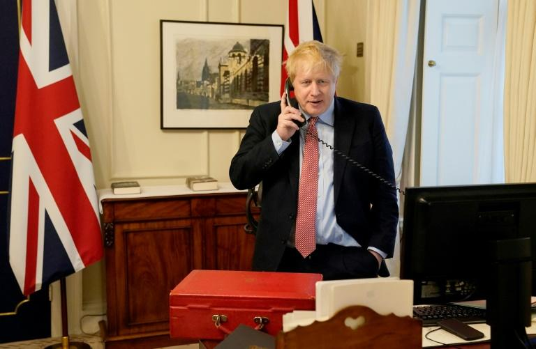 UK PM faces new questions after phone number found online