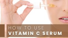 How To Use Vitamin C Serum In Your Skin Care Routine