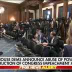 Rep. Collins: Impeachment articles show Democrats have no case