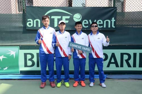 網球》夜市球王領軍 青年台維斯盃亞大區資格賽連勝晉8強