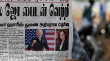 'God Bless America': world media react to Biden win