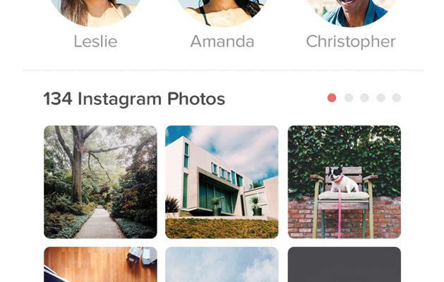 Tinder lets you judge a person's Instagram skills before swiping right