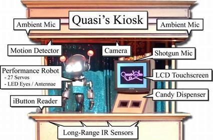 "Researchers unveil emotive, interactive robot: ""Quasi"""