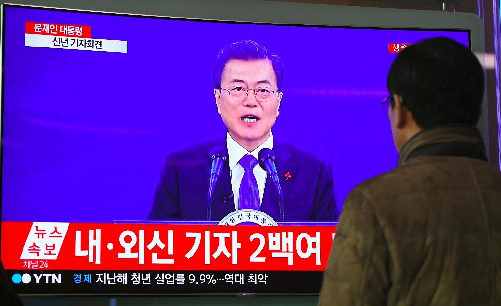 South Korean President Moon has long supported engagement with the North