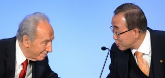Shimon Peres worked 'tirelessly' for two-state solution: UN chief