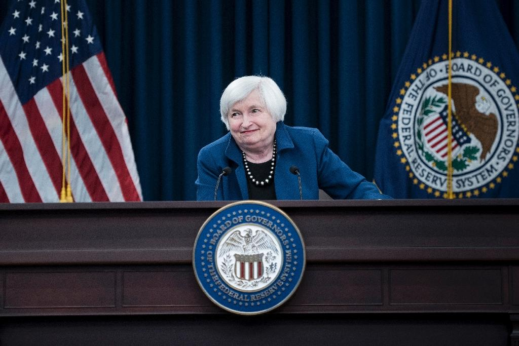 Trump was highly critical of Federal Reserve chief Janet Yellen during the presidential campaign (AFP Photo/Brendan Smialowski)