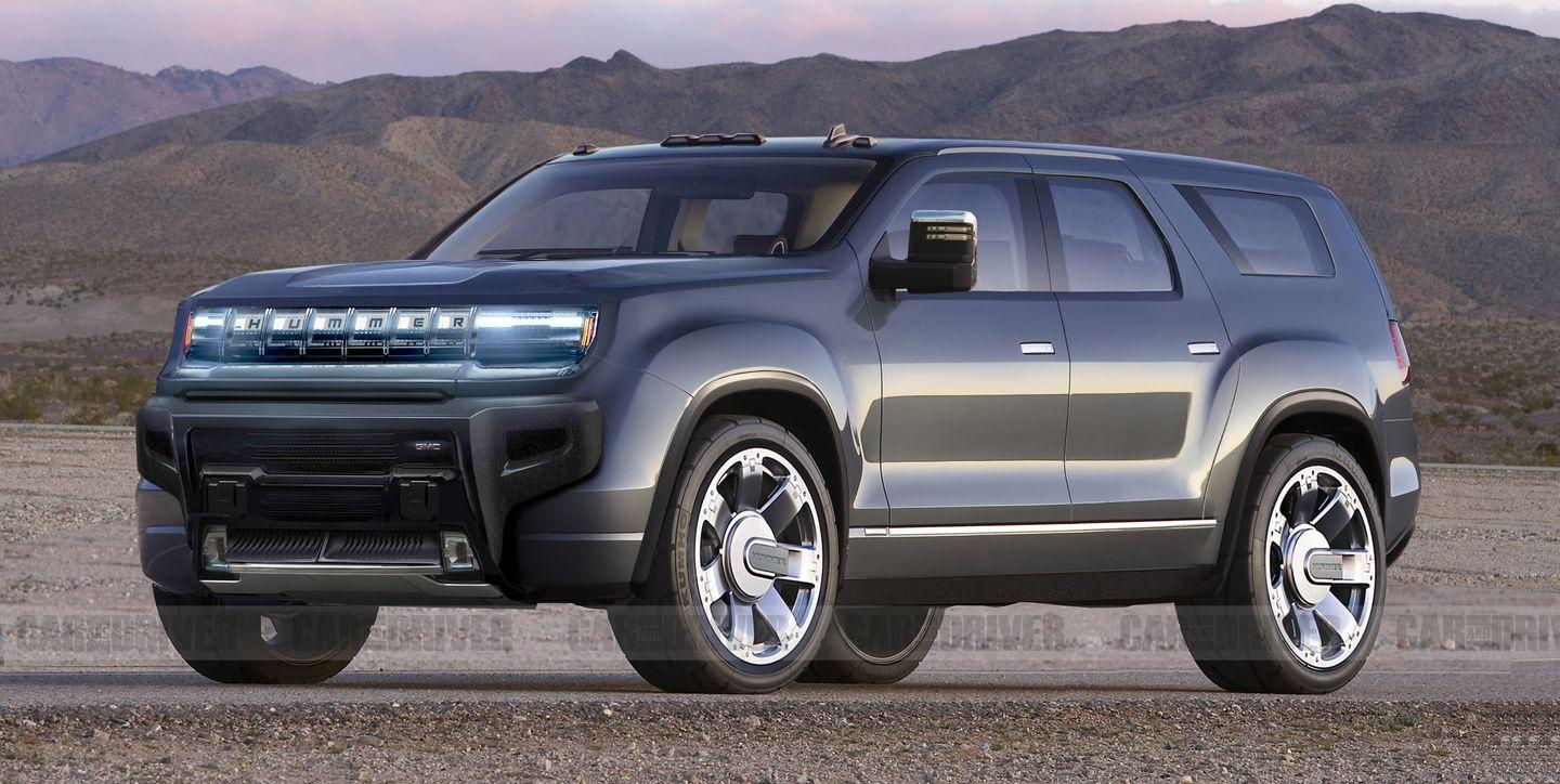 There's Also an Electric GMC Hummer SUV Coming