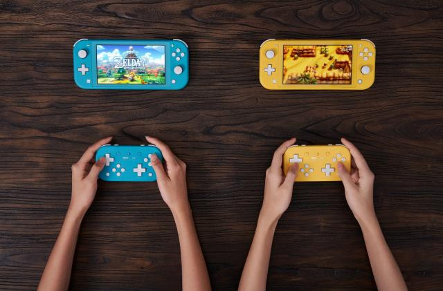 8BitDo's latest Switch controller ditches thumbsticks for dual D-pads