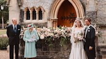 Princess Beatrice Borrowed Her Exquisite Wedding Dress from the Queen