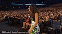 Bullock sweeps People's Choice, Clooney offers dream date