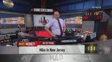 Cramer's lightning round: Don't buy Mallinckrodt after it...