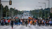 """Catalogna ribadisce: """"Dialogo"""". Proteste contro l'arresto dei leader indipendentisti"""