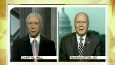Pat Leahy Faces Off With Orrin Hatch